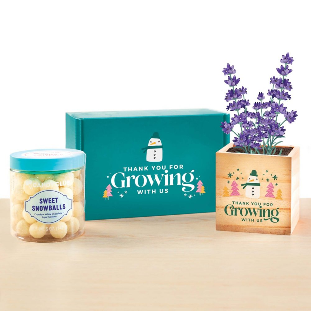 View larger image of Sweet Blooms Appreciation Plant Kit - Growing with Us