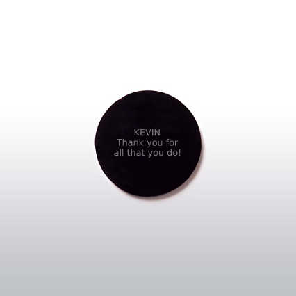 Pocket Appreciation Token - Black