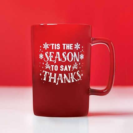 Dazzling Ombre Mug Gift Set - Tis the Season to Say Thanks