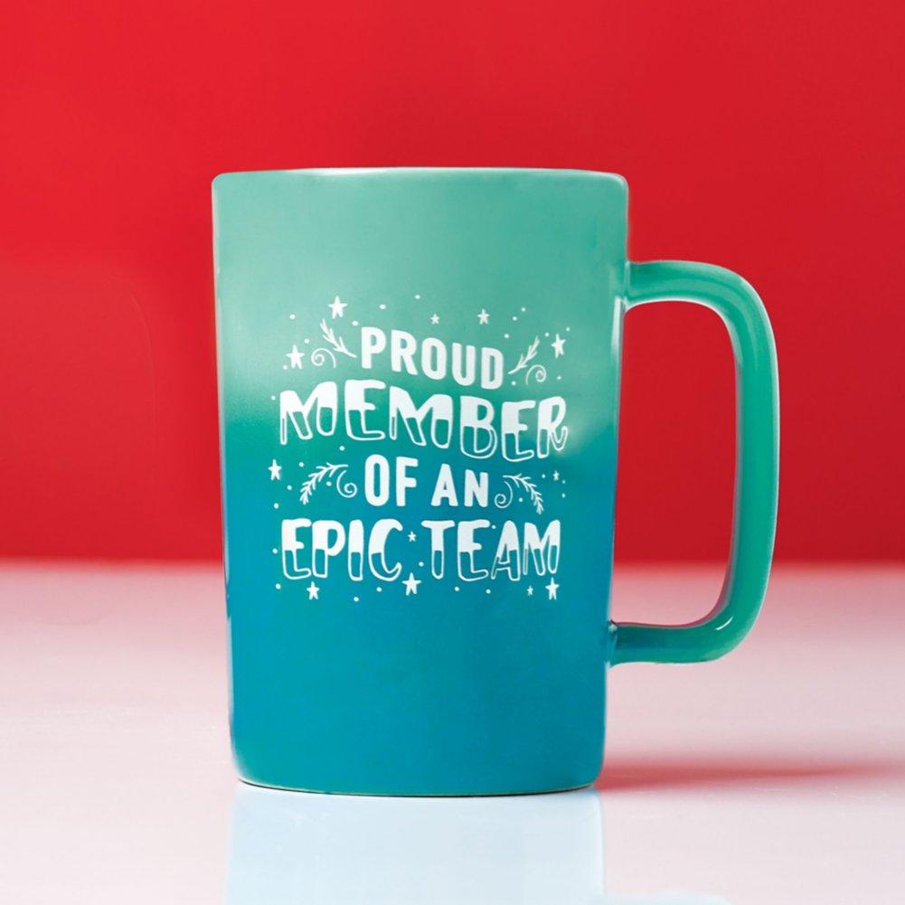 View larger image of Dazzling Ombre Mug Gift Set - Epic Team