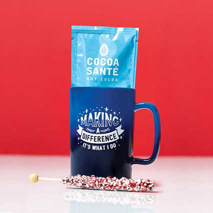 Dazzling Ombre Mug Gift Set - Making a Difference