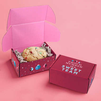 Scrumptious Cookie Box - M&M