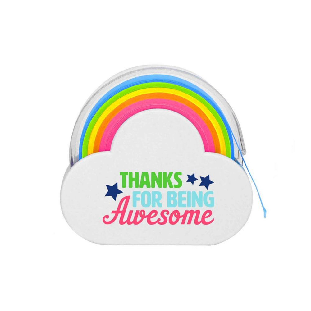 View larger image of Rainbow Roll Memo Tape - Thanks For Being Awesome
