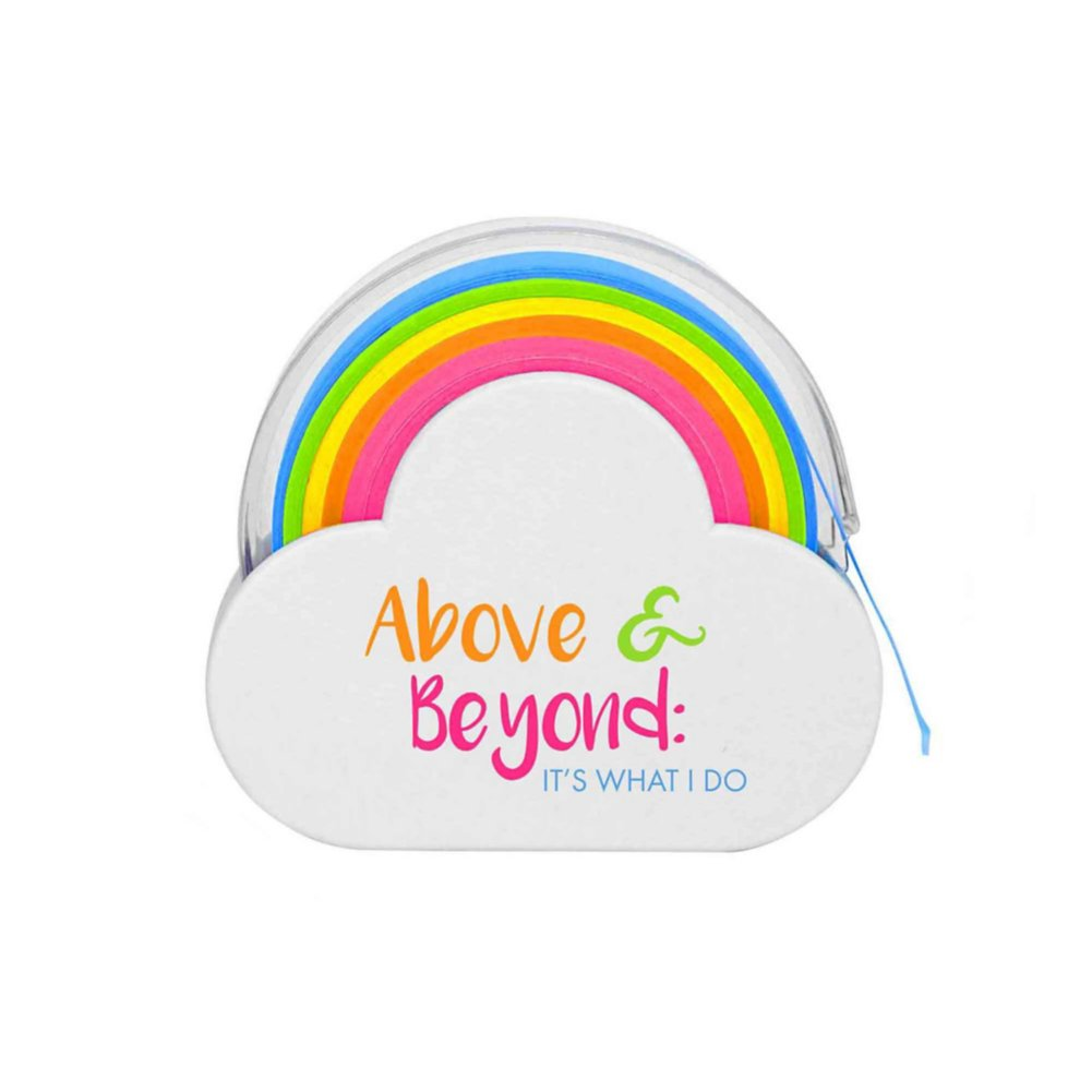 View larger image of Rainbow Roll Memo Tape - Above & Beyond: It's What I Do