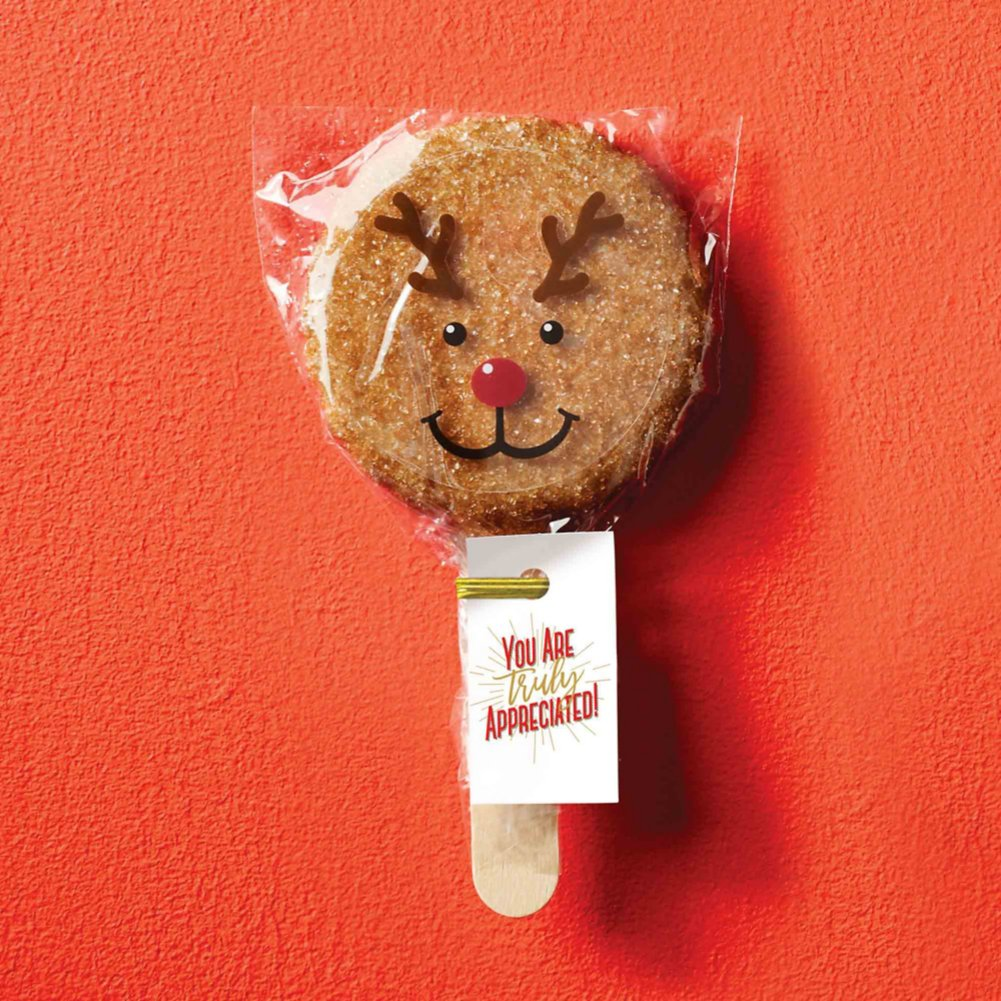 View larger image of Cookie Pops - Reindeer You Are Truly Appreciated