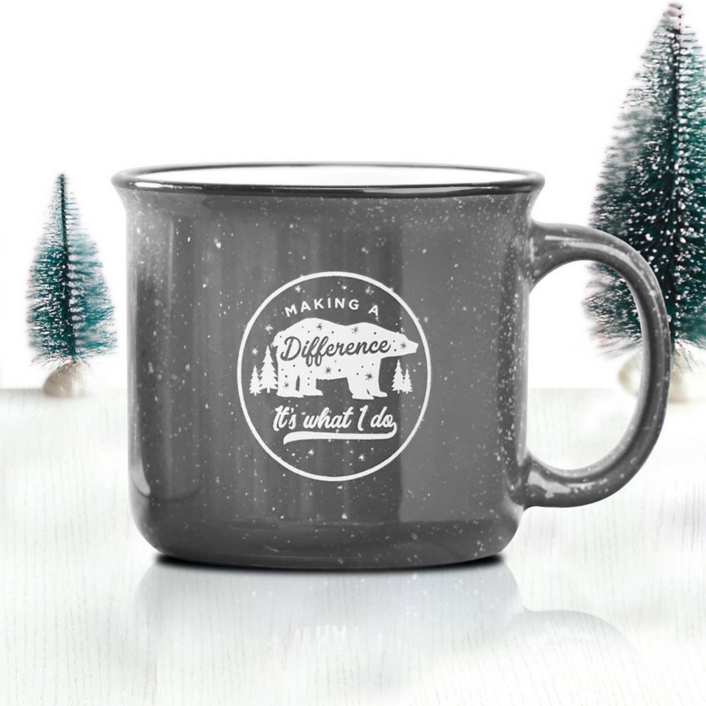 View larger image of Classic Campfire Mug - Making a Difference: It's What I Do