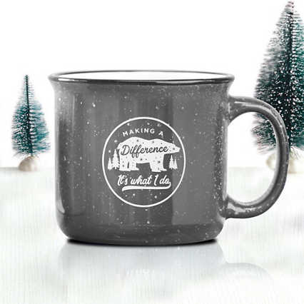 Classic Campfire Mug - Making a Difference: It's What I Do