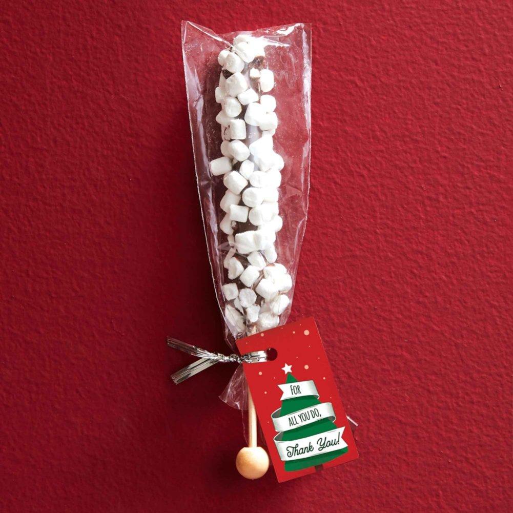 View larger image of Gourmet Chocolate Stir Stick - Milk Chocolate Marshmallow