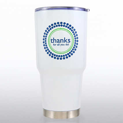 Big Sip Stainless Steel Tumbler - Thanks For All You Do