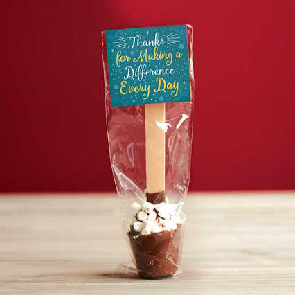 Gourmet Hot Cocoa Spoon - Marshmallow