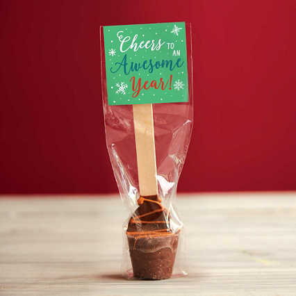 Gourmet Hot Cocoa Spoon - Salted Caramel