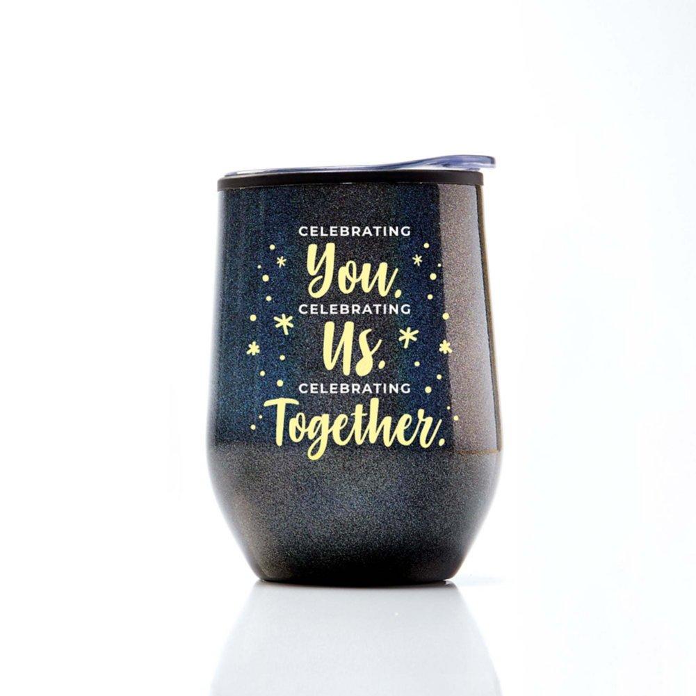 View larger image of Shimmering Wine Tumbler - Celebrating