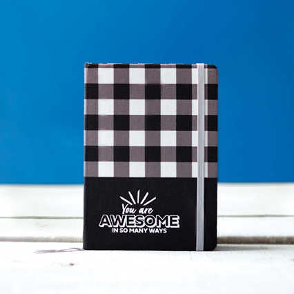 Buffalo Check Journal - You Are Awesome in So Many Ways