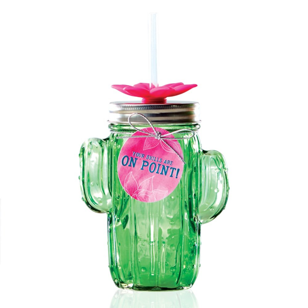Shimmering Cactus Tumbler - Your Skills Are On Point!
