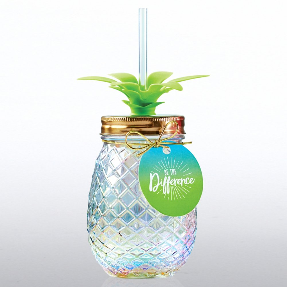 View larger image of Shimmering Pineapple Tumbler - Be The Difference