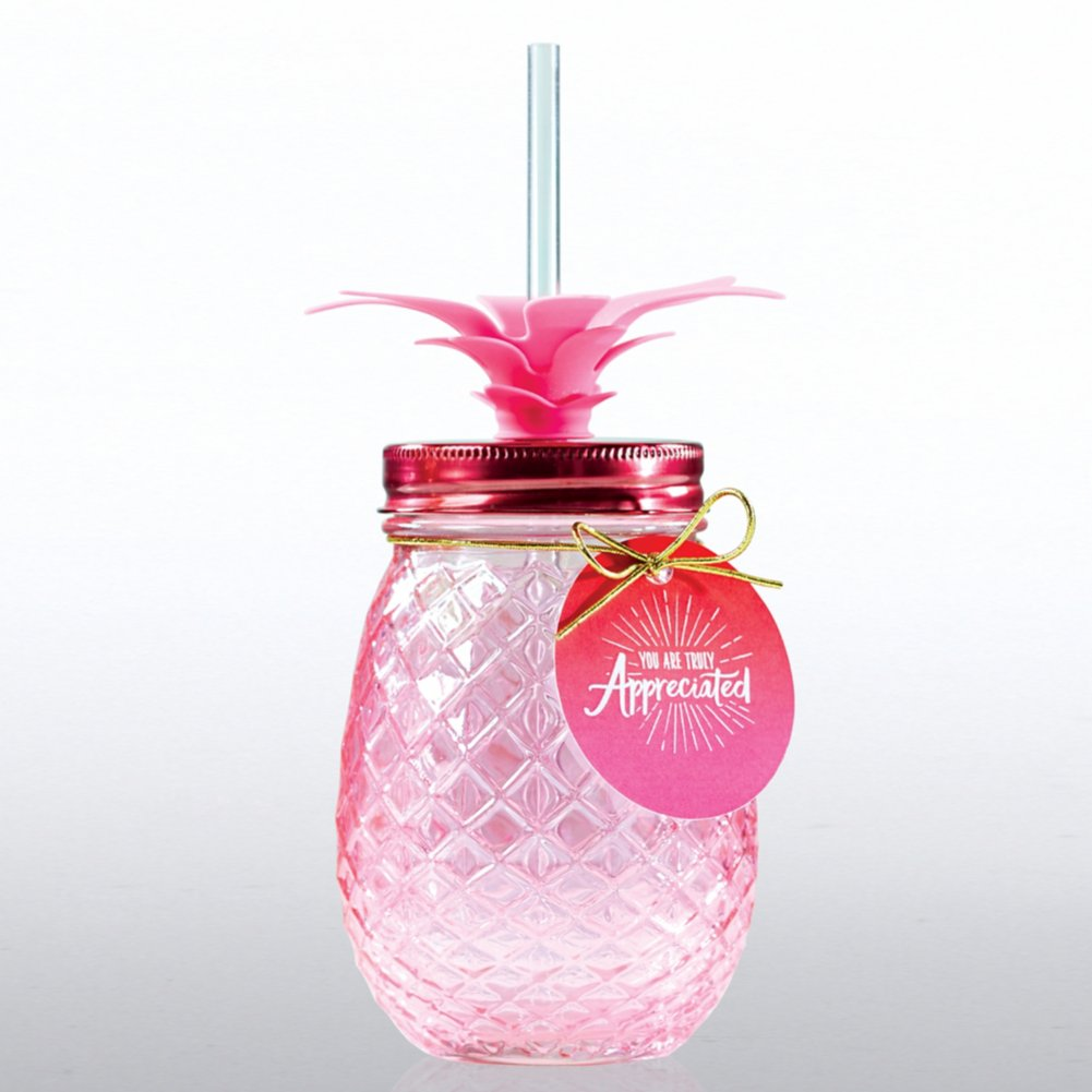 View larger image of Shimmering Pineapple Tumbler - You are Truly Appreciated