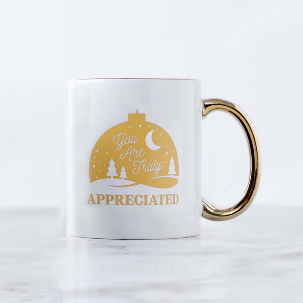 View larger image of Celebration Ceramic Mug - You Are Truly Appreciated