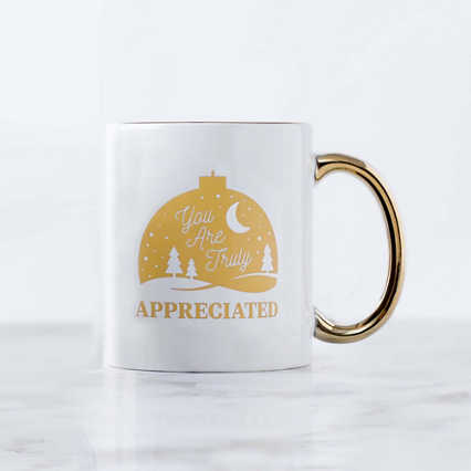 Celebration Ceramic Mug - You Are Truly Appreciated