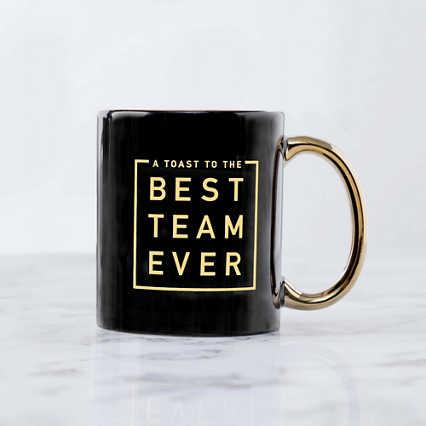 Celebration Ceramic Mug - A Toast to the Best Team Ever