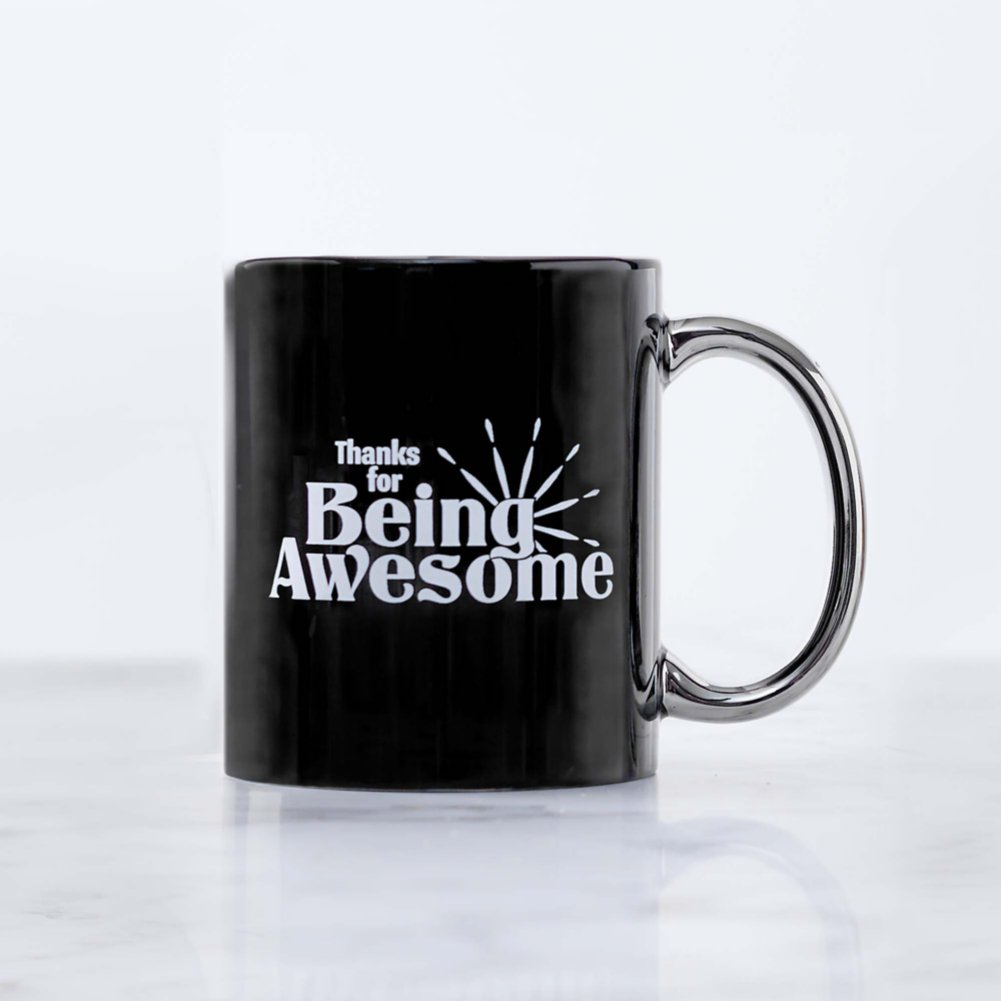 View larger image of Celebration Ceramic Mug - Thanks for Being Awesome