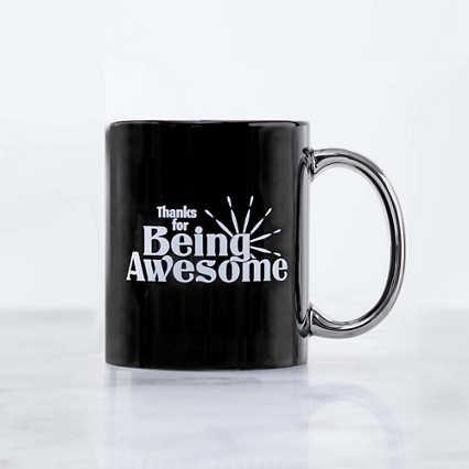 Celebration Ceramic Mug - Thanks for Being Awesome
