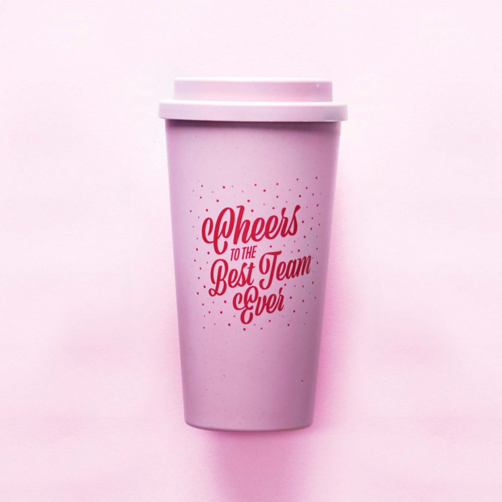 View larger image of Perfectly Pastel Wheat Tumbler - Best Team Ever