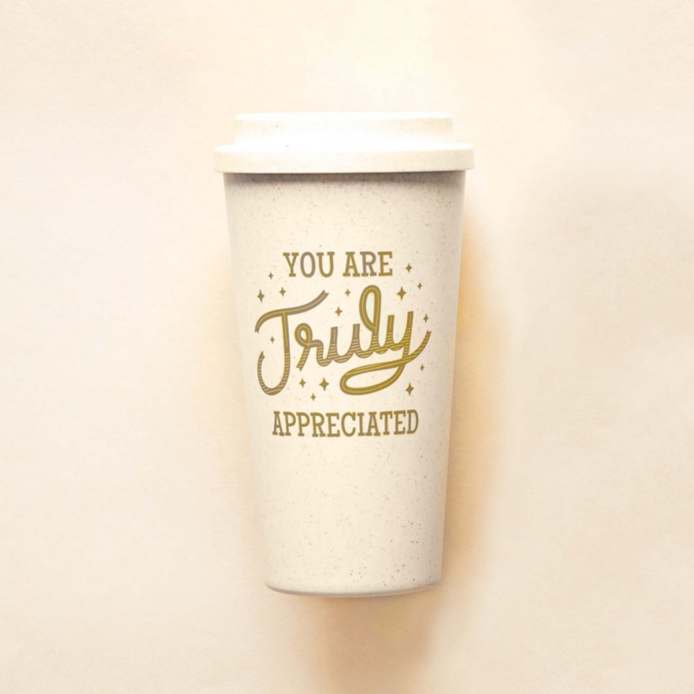 View larger image of Perfectly Pastel Wheat Tumbler - You Are Truly Appreciated