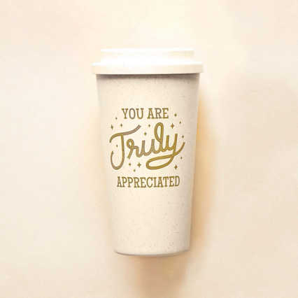 Perfectly Pastel Wheat Tumbler - You Are Truly Appreciated