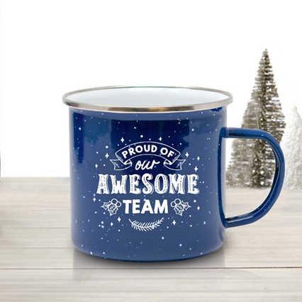 Value Enamel Mug - Awesome