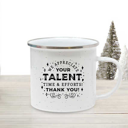 Value Enamel Mug - Talent