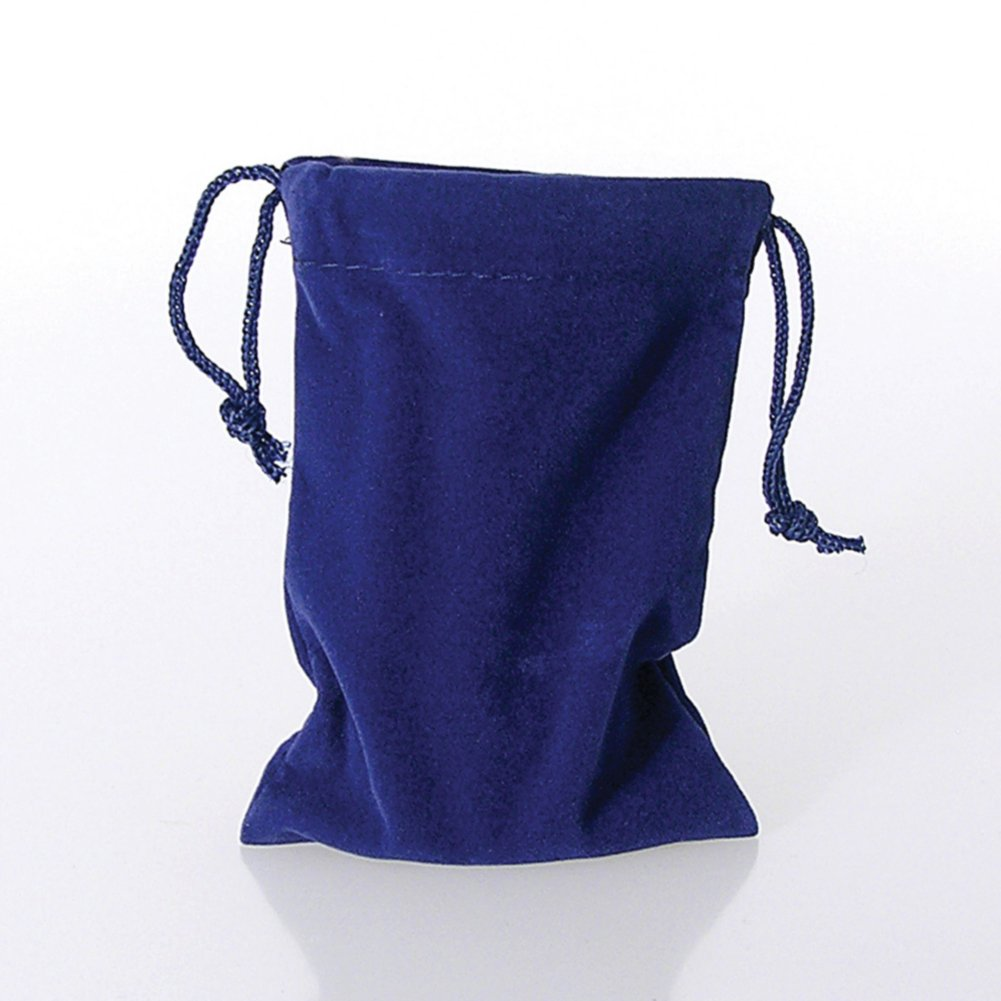 View larger image of Lapel Pin Presentation Pouch - Blue