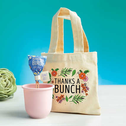 Petite Planter & Tote Set - Thanks a Bunch