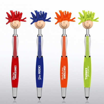 Goofy Screen Cleaner Stylus Pen Pack