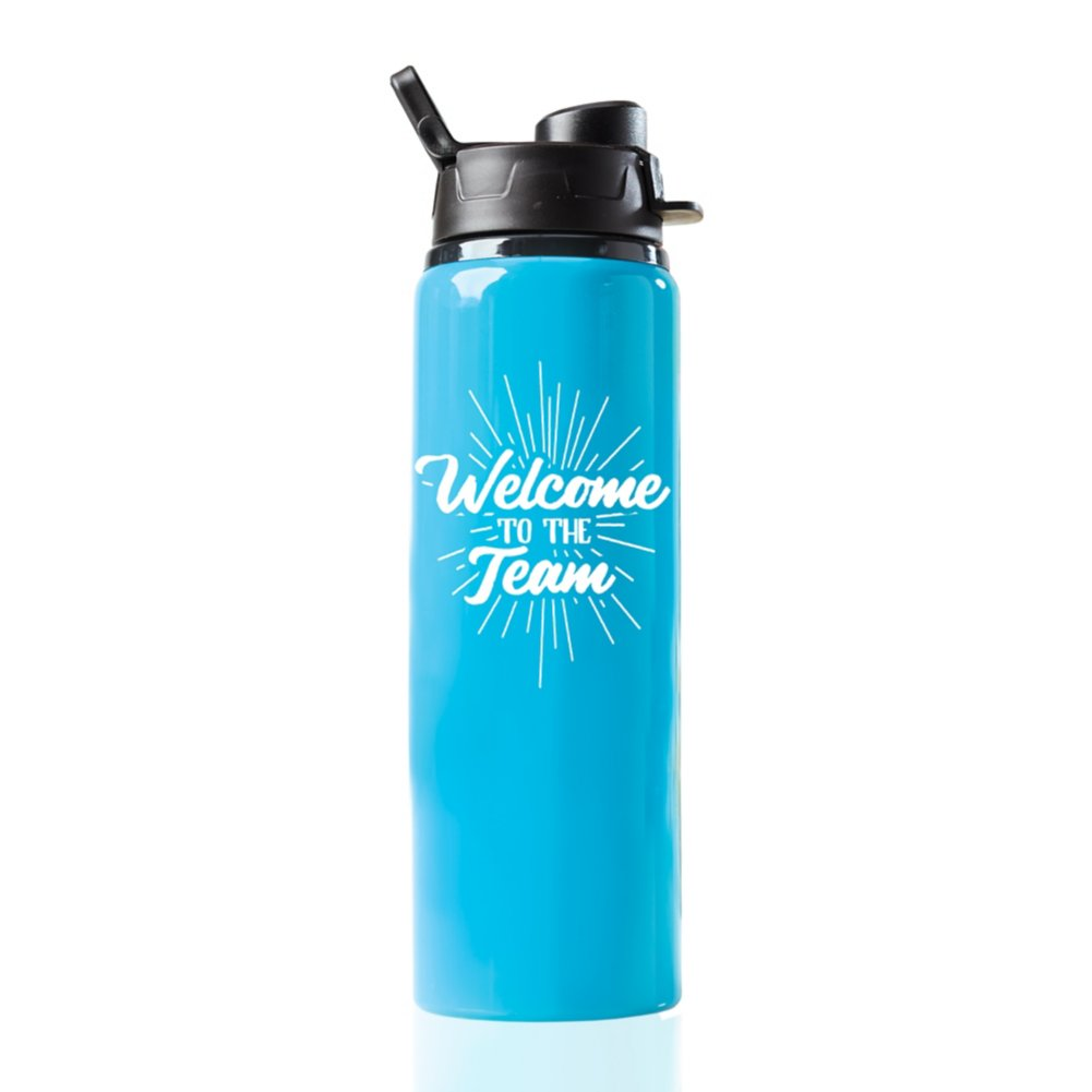 Neon Water Bottle - Welcome to the Team