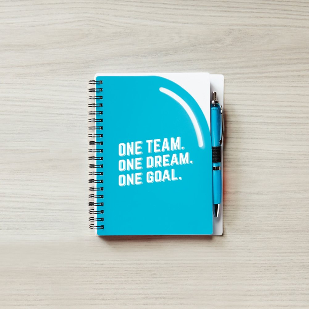 View larger image of Color Pop Value Journal & Pen - 1 Team 1 Dream 1 Goal