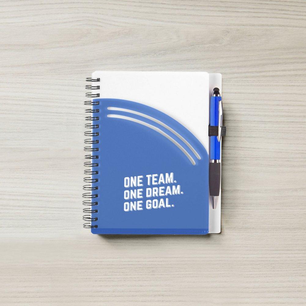 View larger image of Color Pop Value Journal & Pen - 1 Team 1 Dream 1 Goal