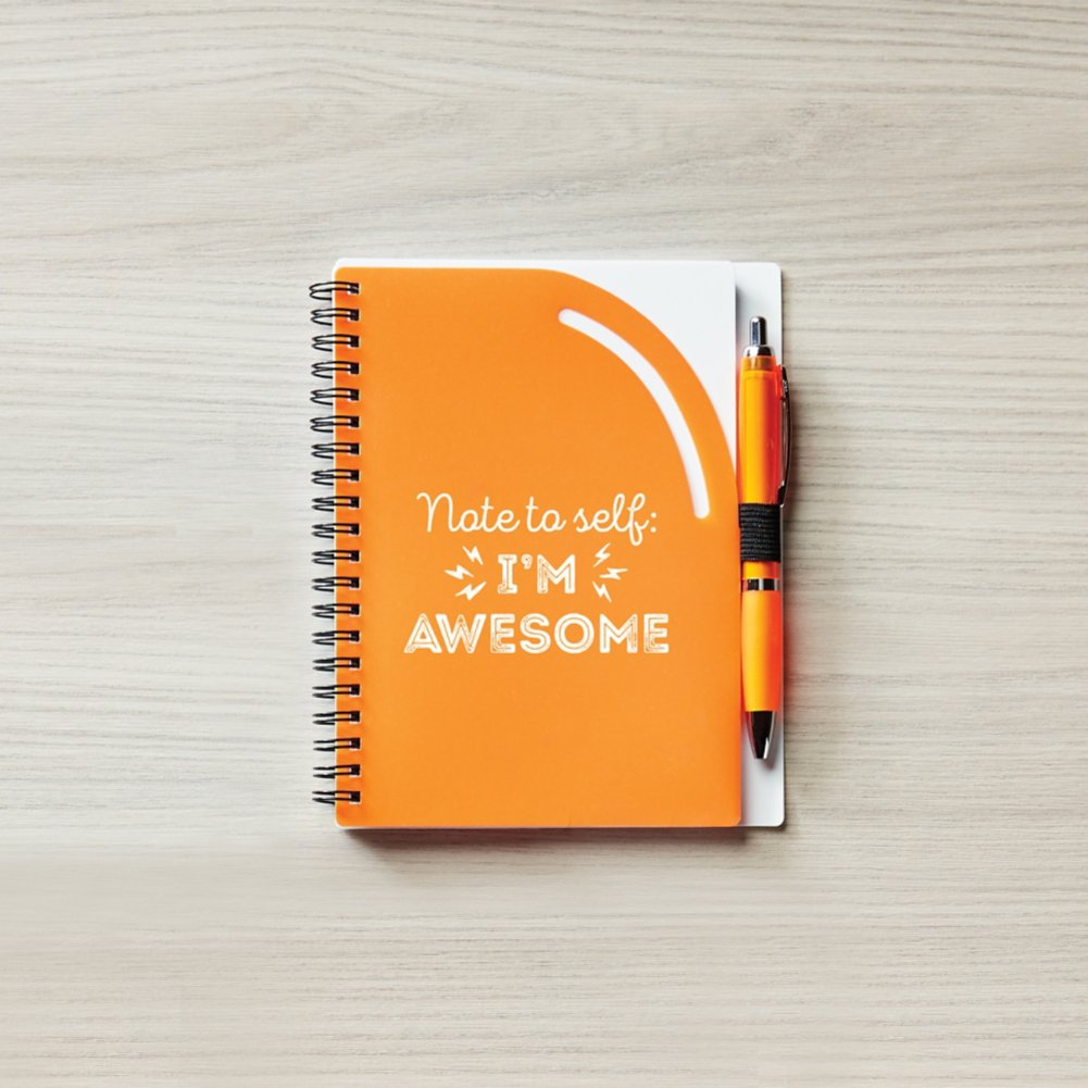 View larger image of Color Pop Value Journal & Pen - Note To Self: I'm Awesome