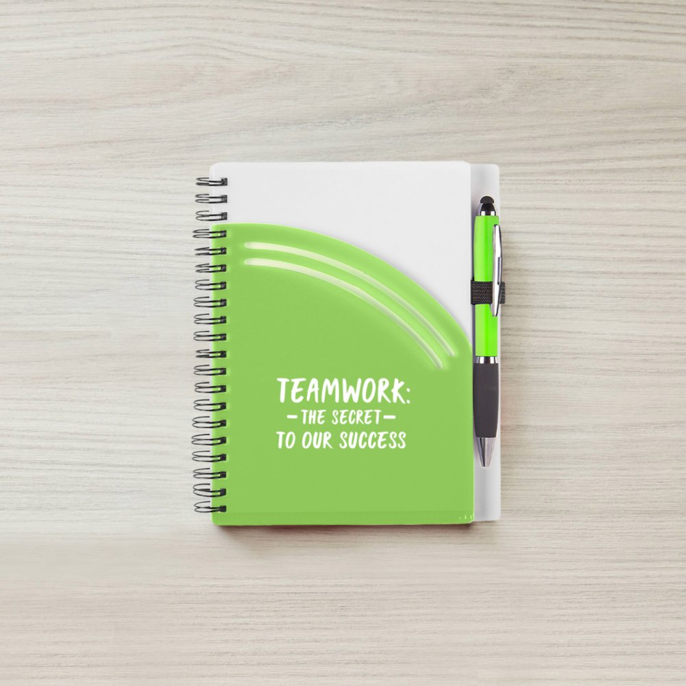 View larger image of Color Pop Value Journal & Pen - Teamwork: Secret to Success