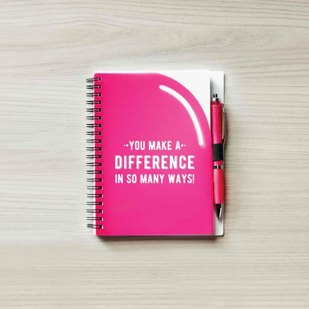 Color Pop Value Journal & Pen - You Make A Difference