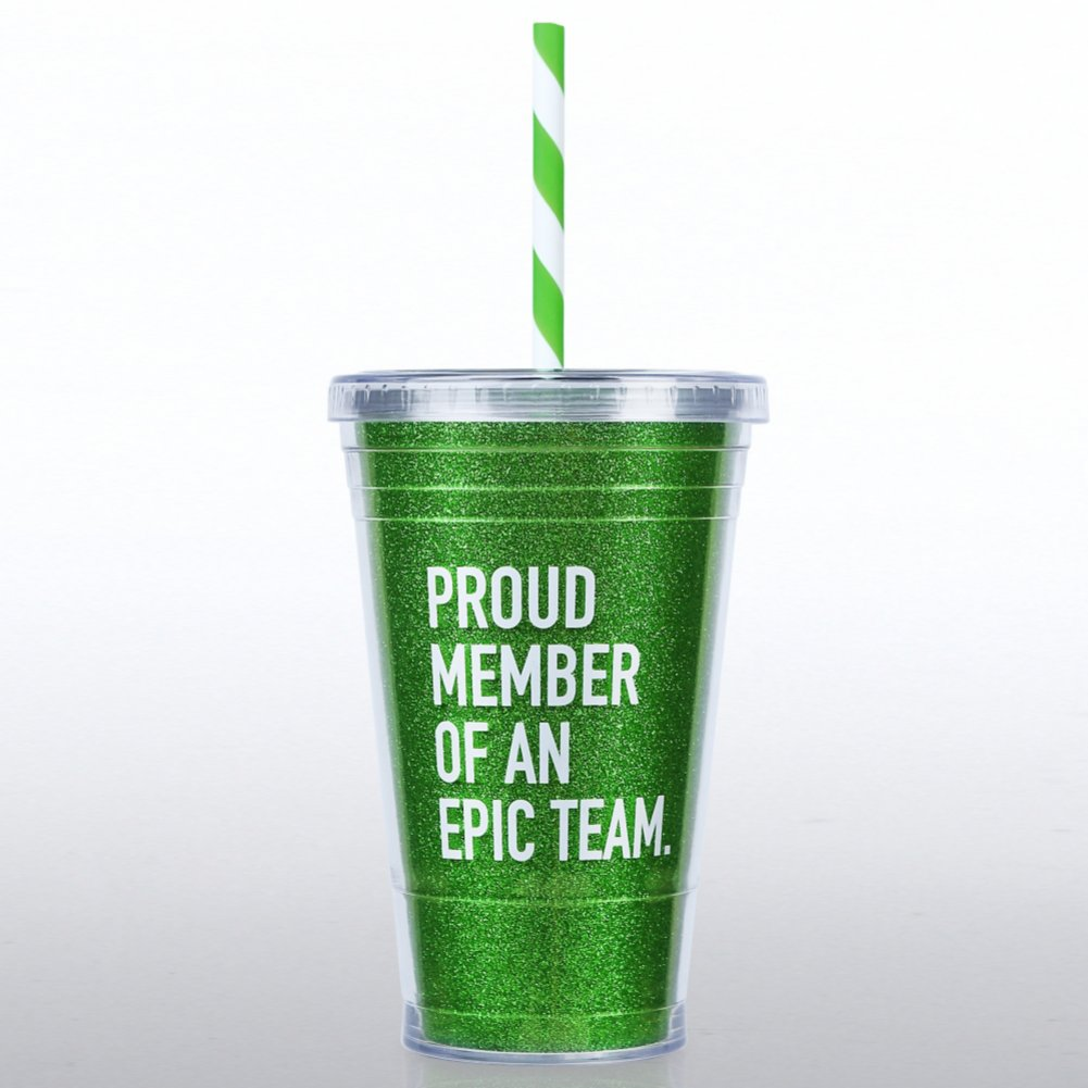 View larger image of Glitter Tumbler: Proud Member of an Epic Team