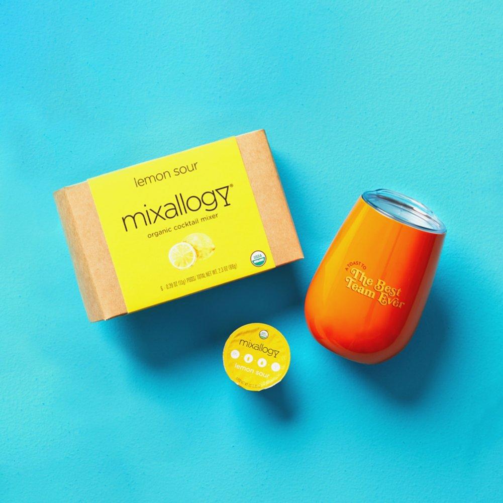 View larger image of Virtual Happy Hour Drink Kit - Lemon Sour