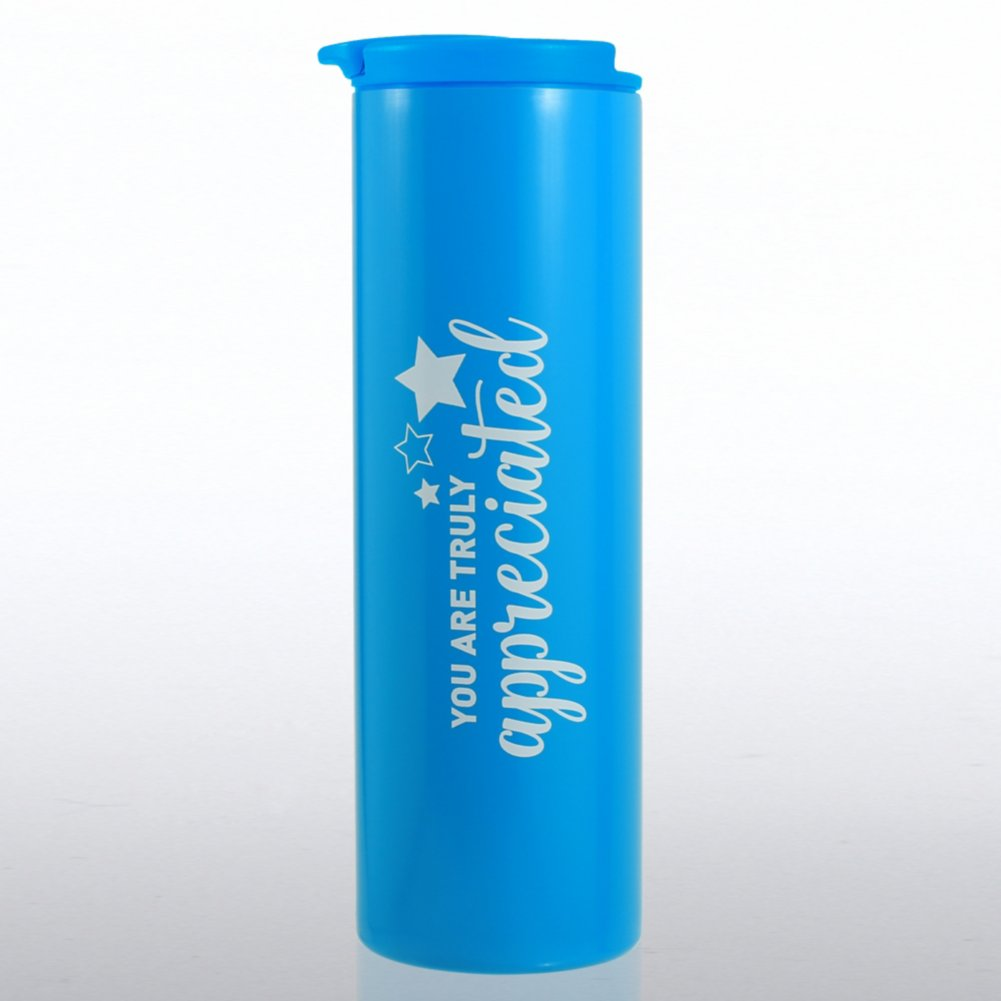 View larger image of Color Pop Stainless Travel Mug - You Are Truly Appreciated