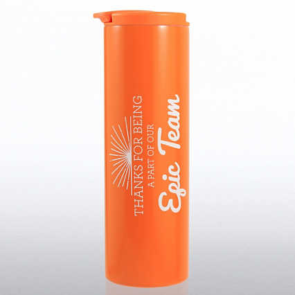 Color Pop Stainless Travel Mug - Epic Team