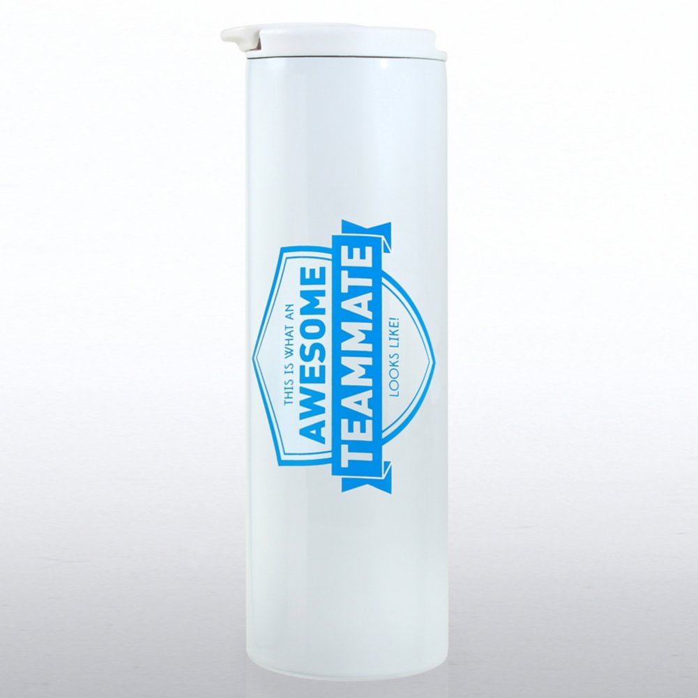 View larger image of Color Pop Stainless Travel Mug - Awesome Teammate