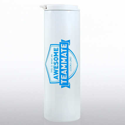 Color Pop Stainless Travel Mug - Awesome Teammate