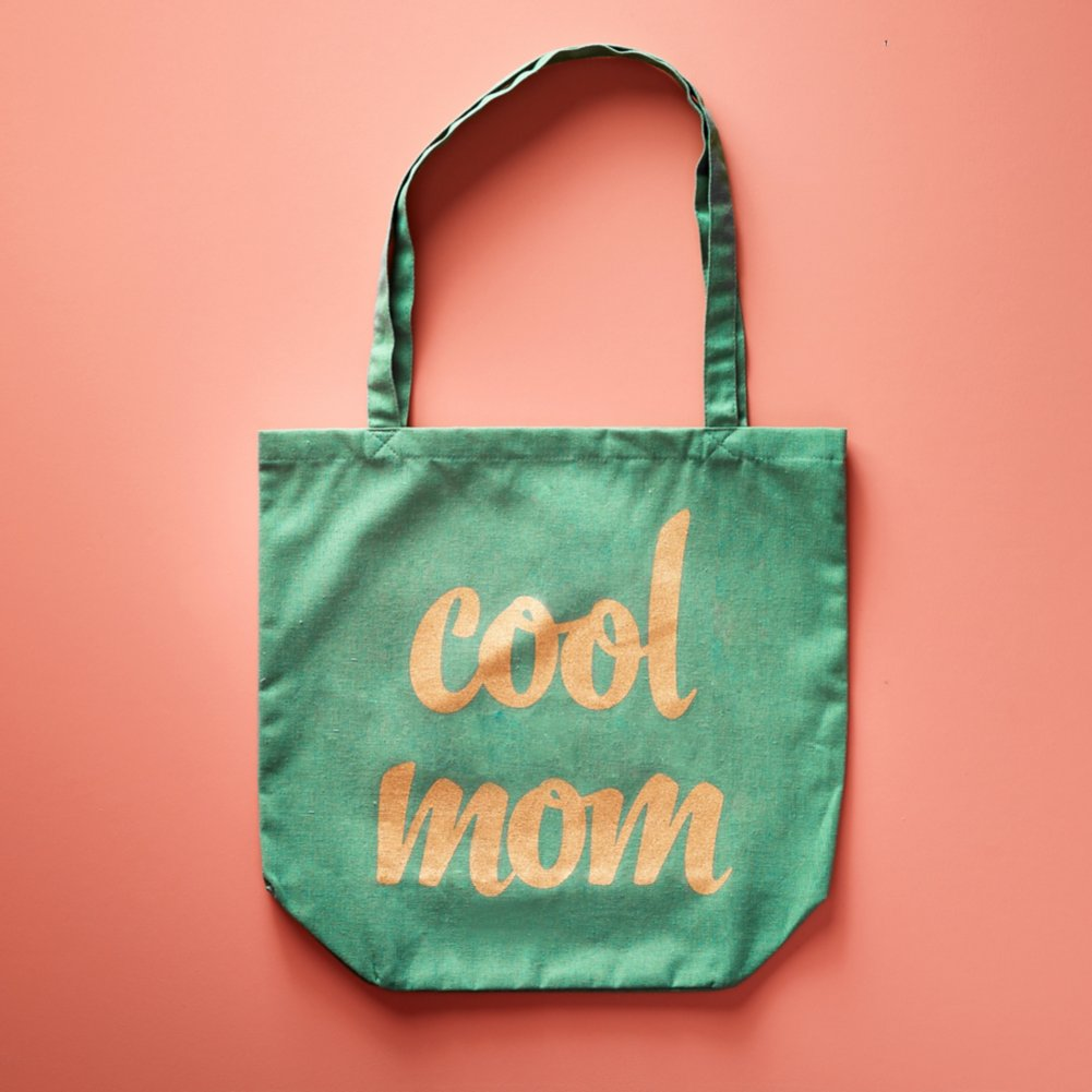 Cool Mom Canvas Tote
