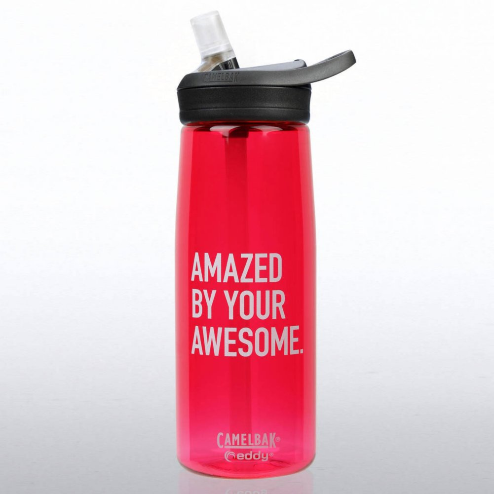 View larger image of Camelbak Eddy Water Bottle - Amazed By Your Awesome