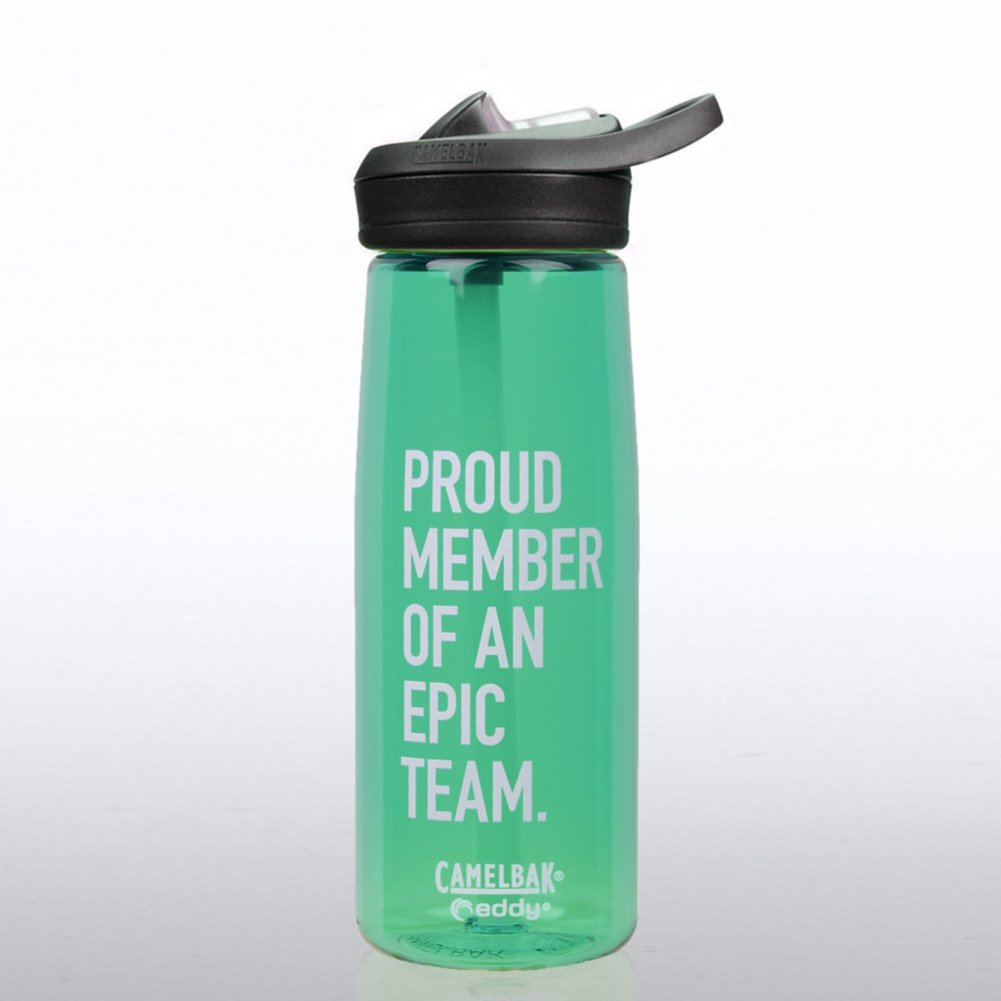 View larger image of Camelbak Eddy Water Bottle - Proud Member of an Epic Team