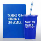 View larger image of Neon Gift Set - Thanks for Making a Difference