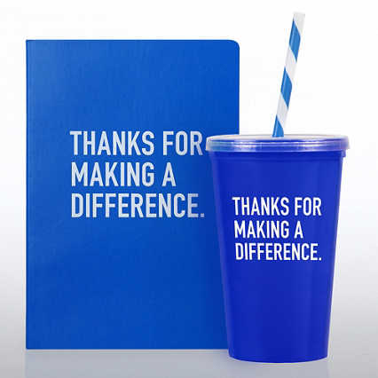 Neon Gift Set - Thanks for Making a Difference